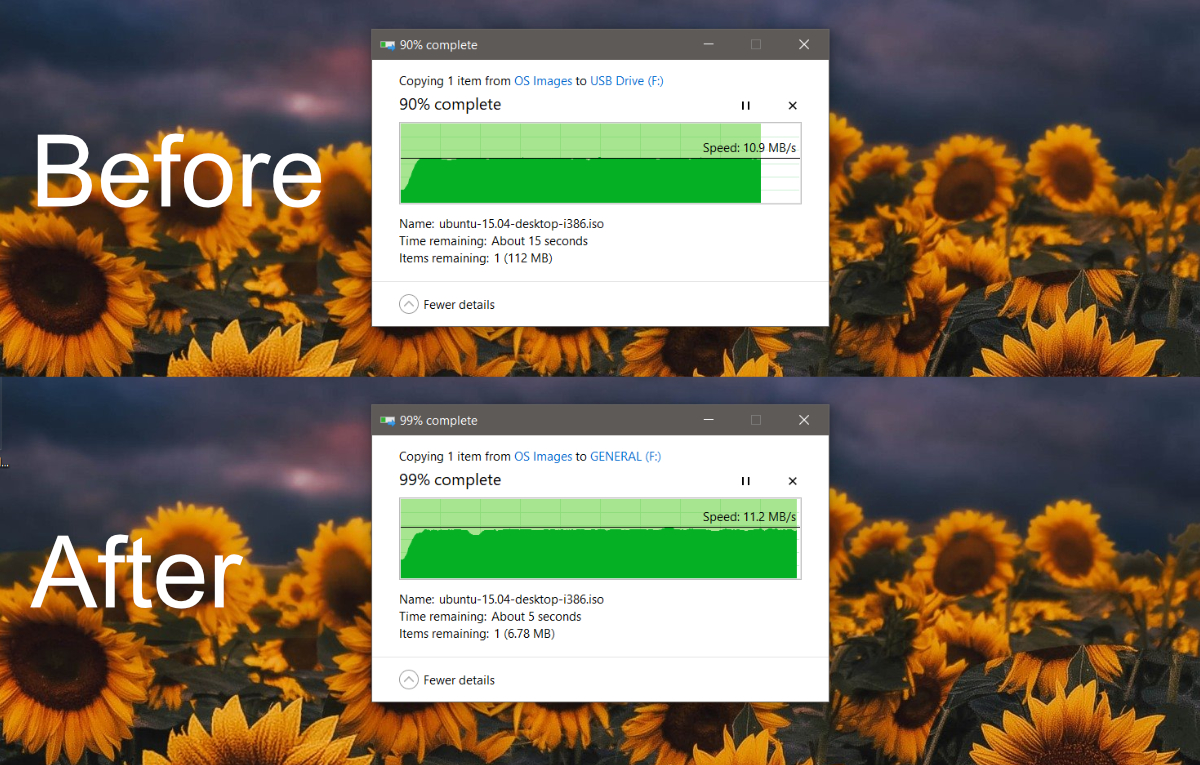 how to speed up a usb drive on windows 10 How to speed up a USB drive on Windows 10