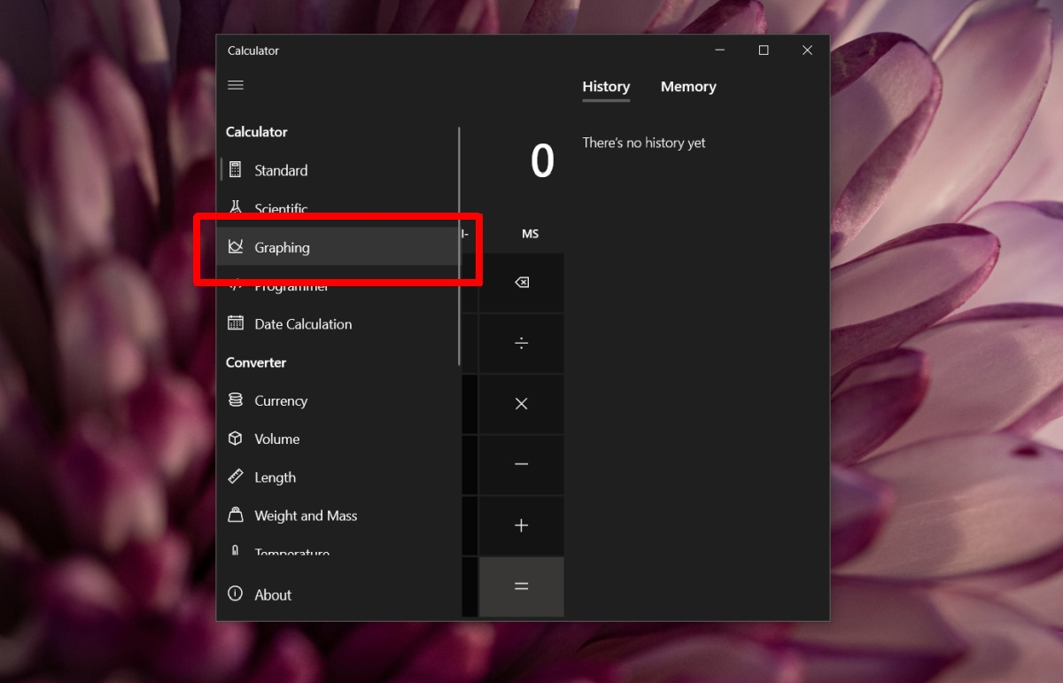 how to use the graph mode in calculator on windows 10 How to use the graph mode in Calculator on Windows 10