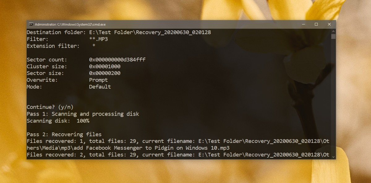 how to use the windows file recovery tool on windows 10 How to use the Windows File Recovery tool on Windows 10