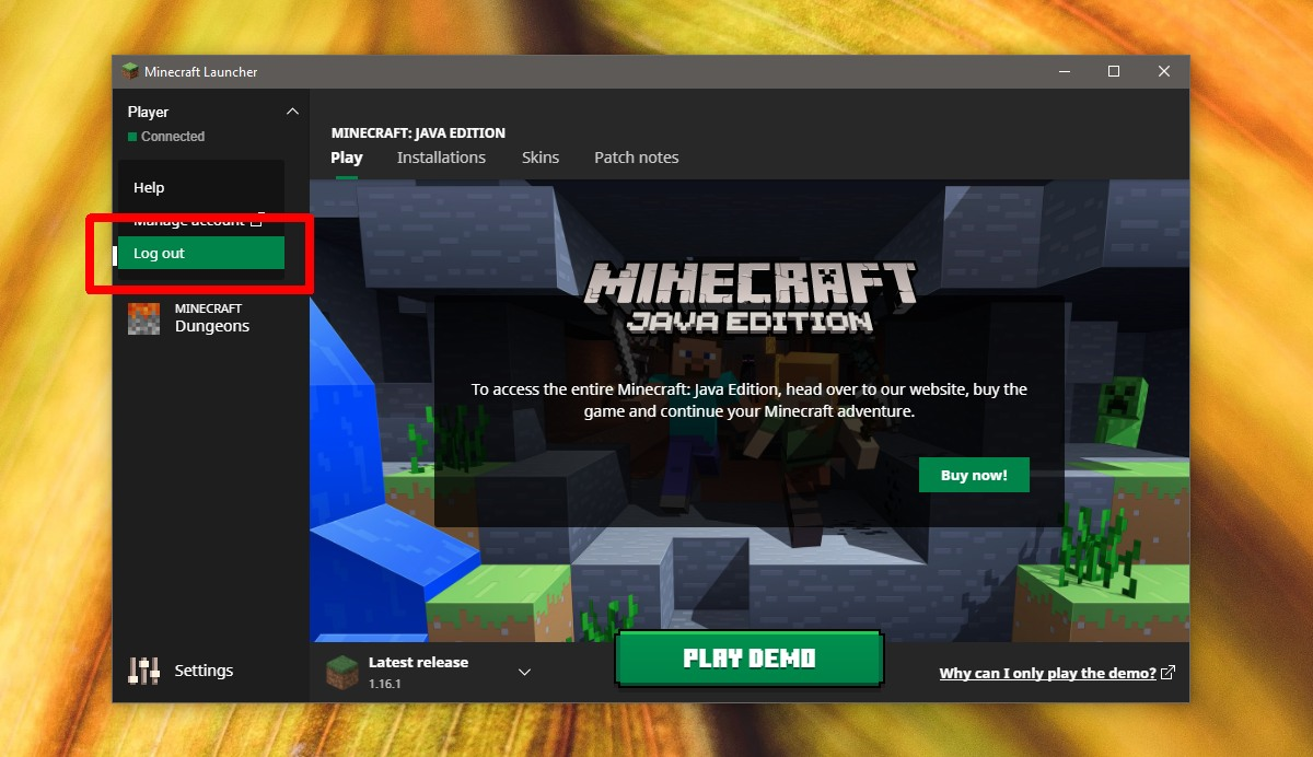 minecraft failed to authenticate your connection heres how to fix it 1 Minecraft Failed to Authenticate Your Connection: Here's How to Fix It