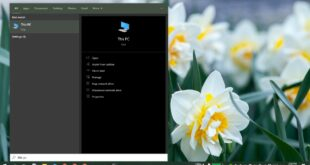 how to add accent color and dark theme to windows search on windows 10 How to add accent color and dark theme to Windows Search on Windows 10