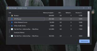 how to identify chrome gpu process on windows 10 How to identify Chrome GPU Process on Windows 10