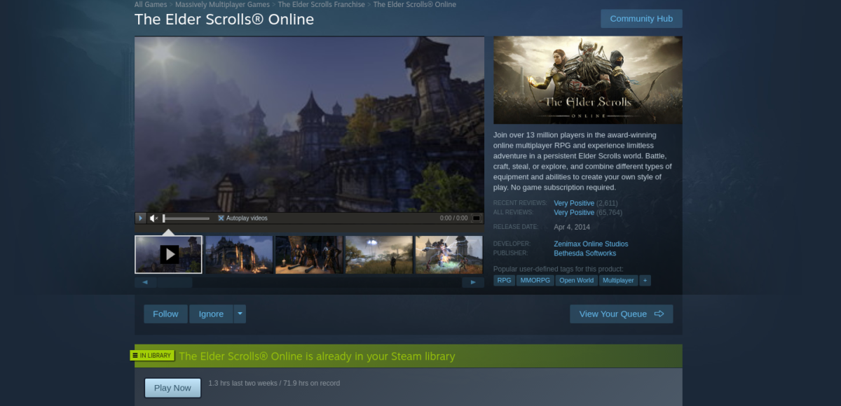 how to play the elder scrolls online on linux 2 How to play The Elder Scrolls Online on Linux