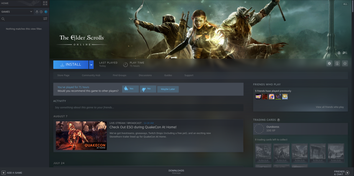 how to play the elder scrolls online on linux 3 How to play The Elder Scrolls Online on Linux
