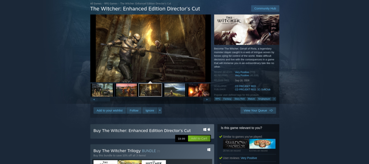 how to play the witcher enhanced edition directors cut on linux 3 How to play The Witcher: Enhanced Edition Director's Cut on Linux