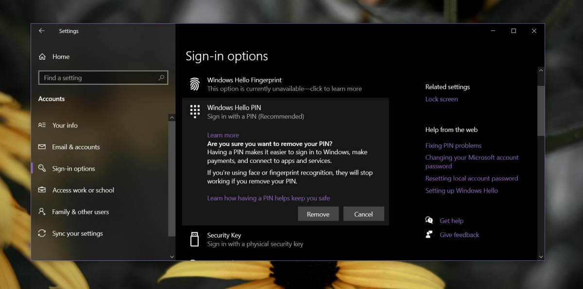 how to reset the pin on windows 10 1 How to reset the PIN on Windows 10