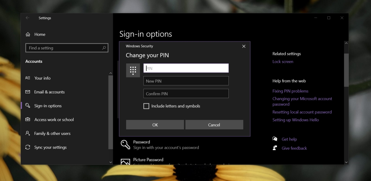 how to reset the pin on windows 10 2 How to reset the PIN on Windows 10