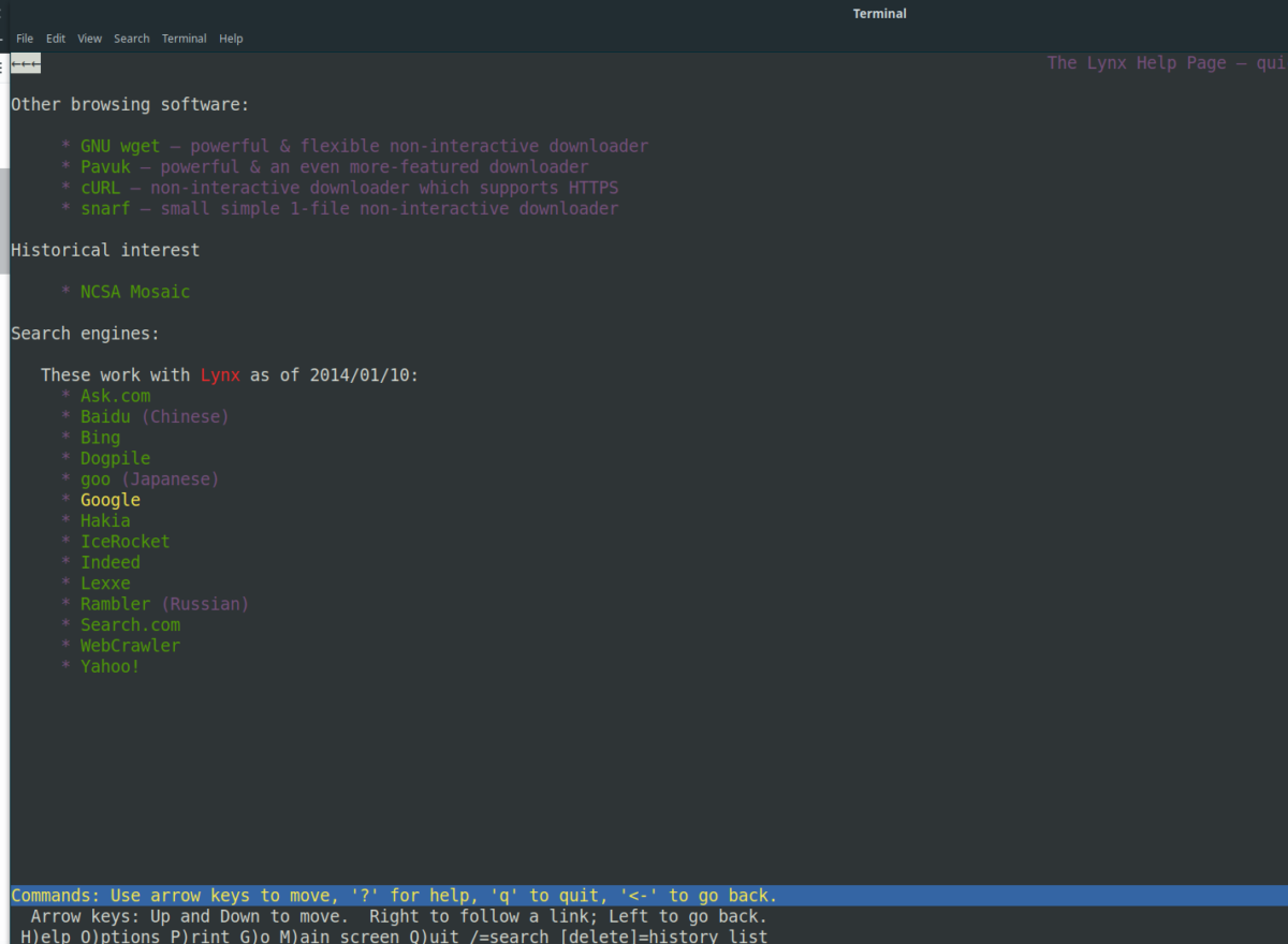 how to search the internet from your linux terminal How to search the internet from your Linux terminal
