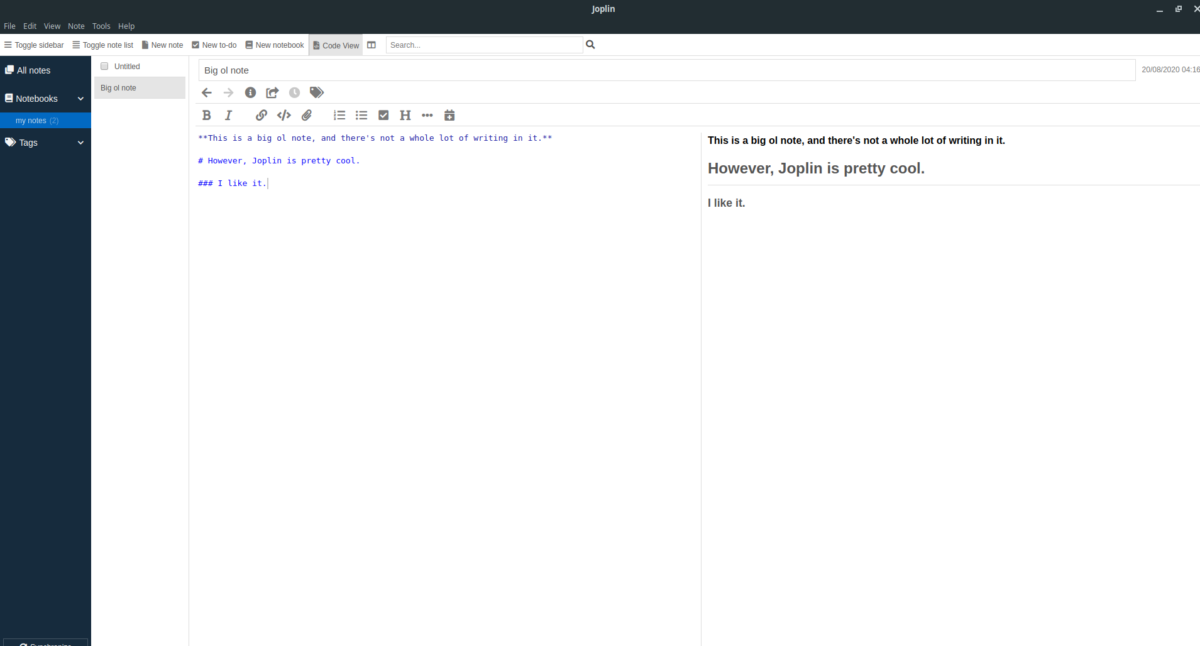 how to set up the joplin note taking app on linux 1 How to set up the Joplin note-taking app on Linux