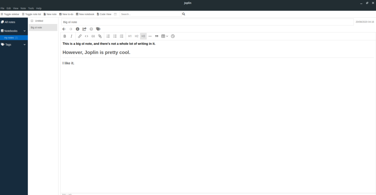 how to set up the joplin note taking app on How to set up the Joplin note-taking app on Linux