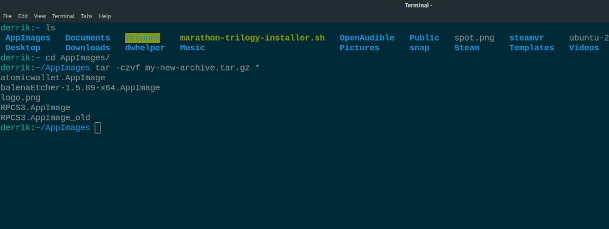 4 ways to compress files in the terminal on linux 1 4 ways to compress files in the terminal on Linux