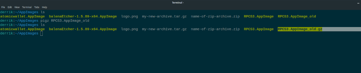 4 ways to compress files in the terminal on linux 4 4 ways to compress files in the terminal on Linux
