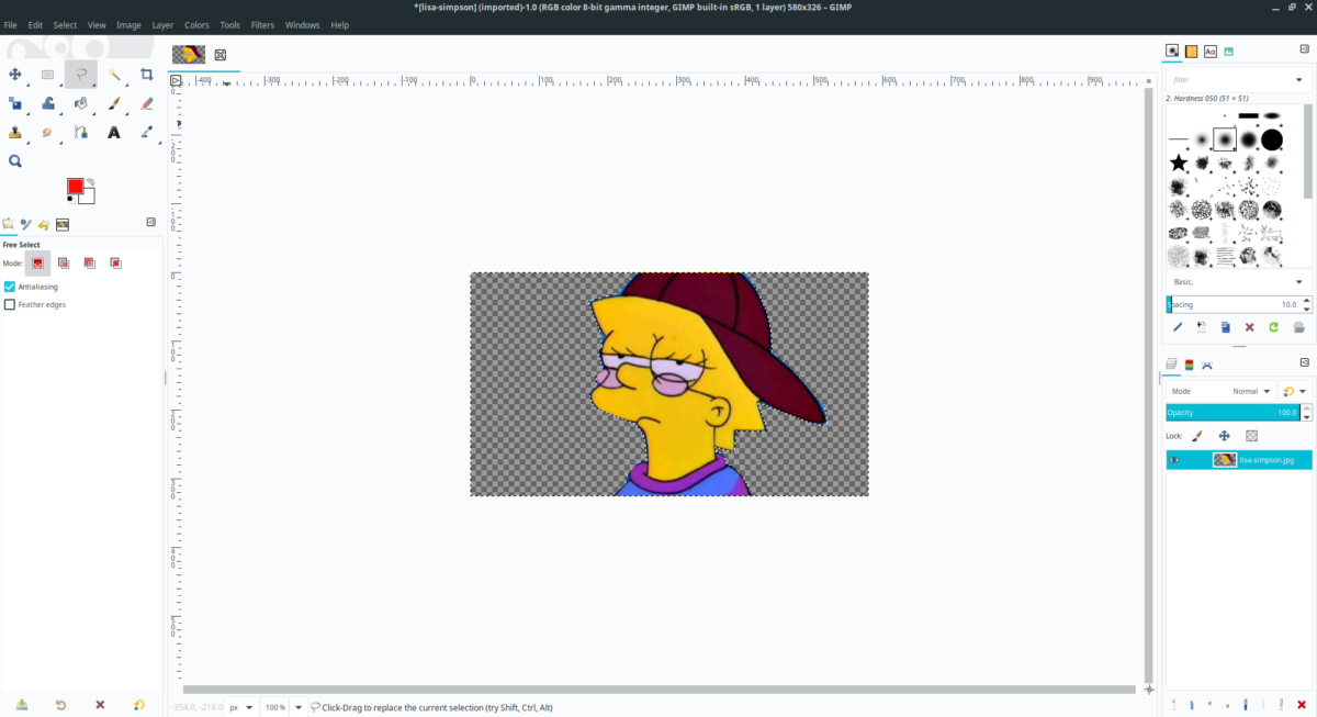 how to cut out an image on How to cut out an image on Linux
