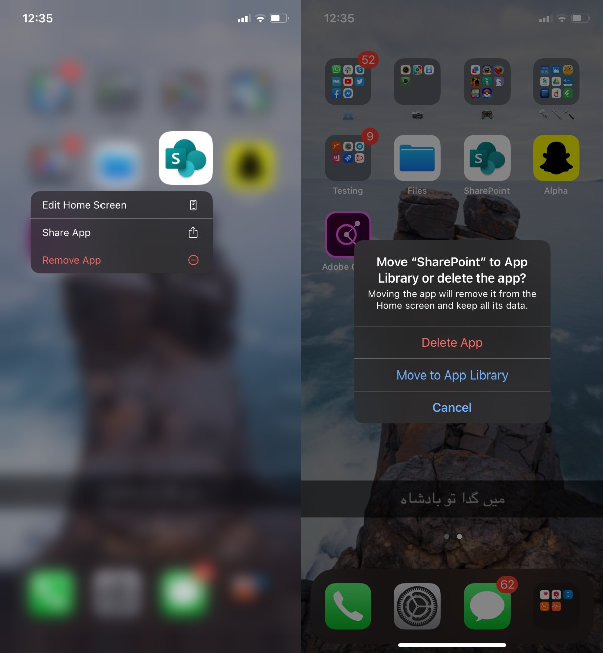 how to move apps to the home screen and app library on iphone 1 How to move apps to the Home screen and App library on iPhone