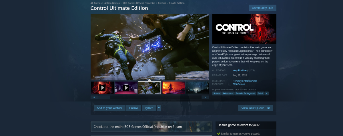 how to play control ultimate edition on linux 3 How to play Control Ultimate Edition on Linux