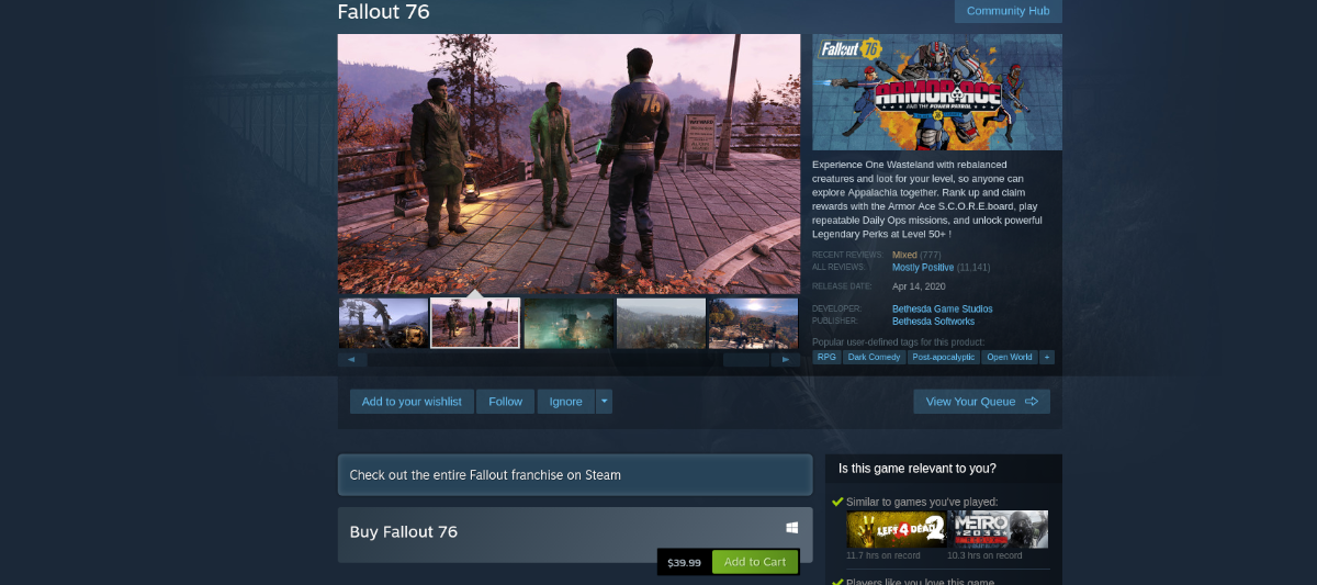 how to play fallout 76 on linux 2 How to play Fallout 76 on Linux