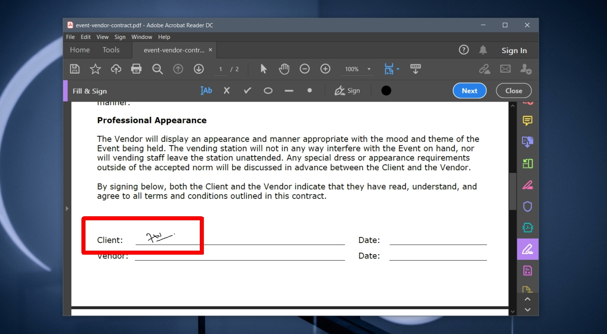 how to sign a pdf on windows 10 free solution 2 How to sign a PDF on Windows 10 [Free solution]