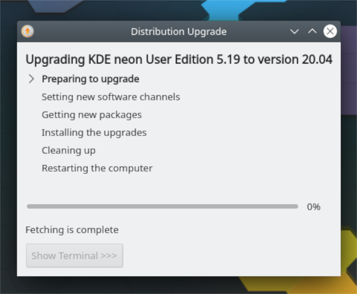 how to upgrade to kde neon 20 04 2 How to upgrade to KDE Neon 20.04