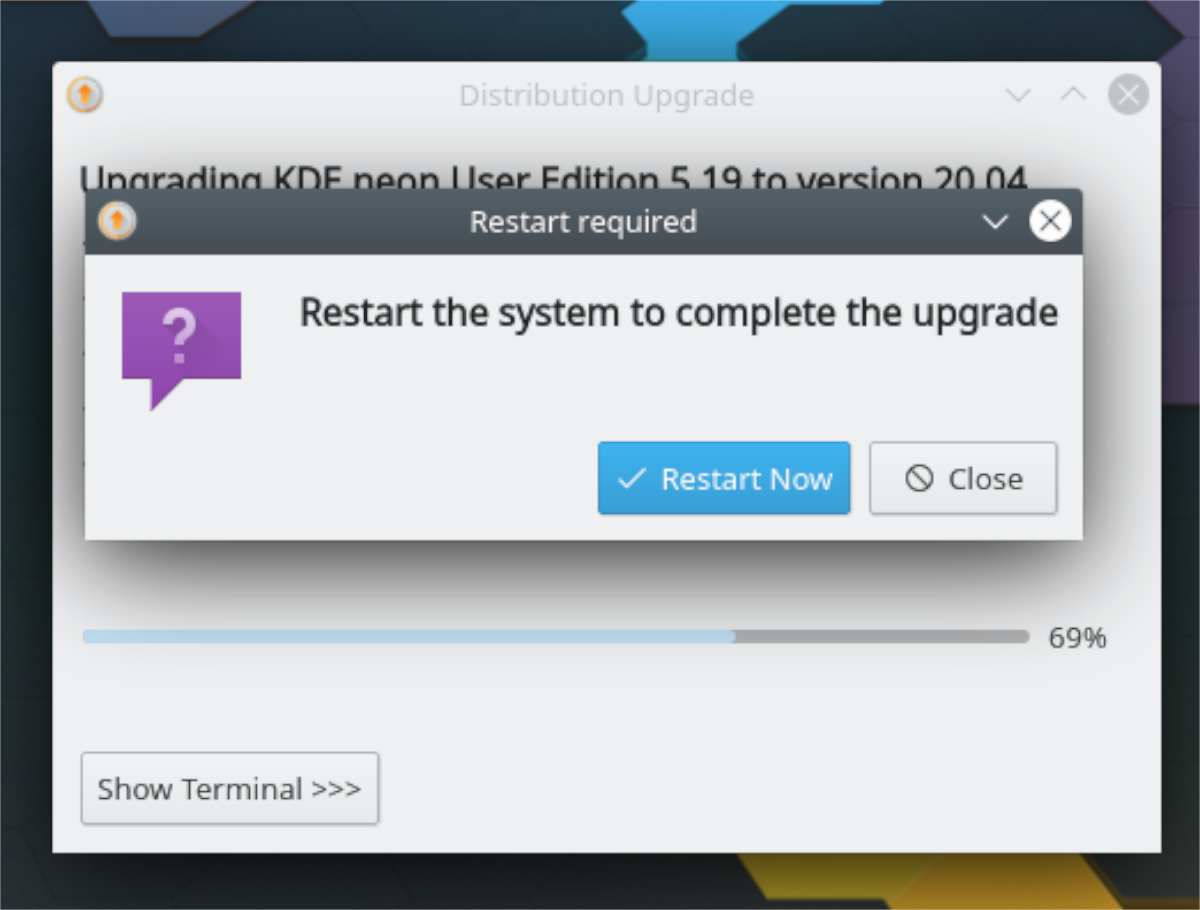 how to upgrade to kde neon 20 04 3 How to upgrade to KDE Neon 20.04