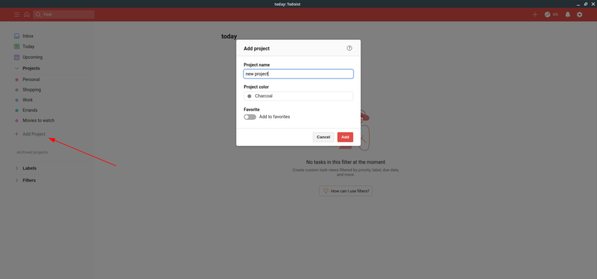how to use the official todoist app on linux 1 How to use the official Todoist app on Linux