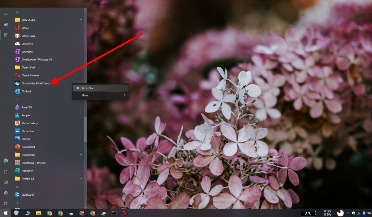how to add steam games to the start menu on windows 10 2 How to add Steam games to the Start Menu on Windows 10