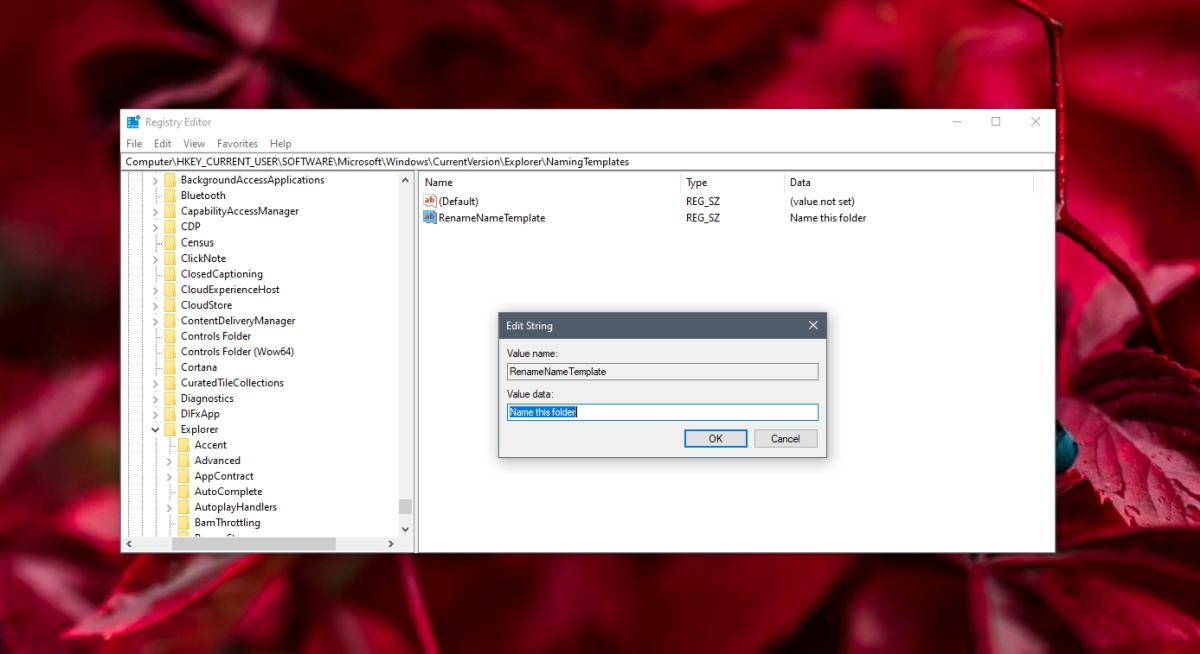 how to change default new folder name on windows 10 How to change default new folder name on Windows 10