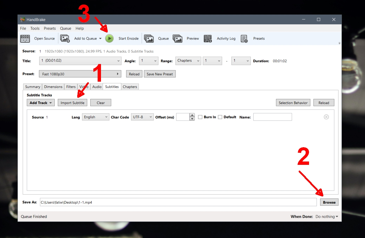 how to embed subtitles in a video on windows 10 1 How to embed subtitles in a video on Windows 10