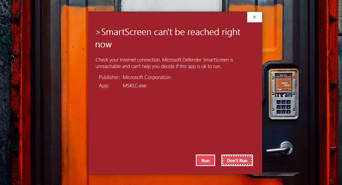 """how to fix smartscreen cant be reached right now on windows 10 How to fix """"SmartScreen can't be reached right now"""" on Windows 10"""