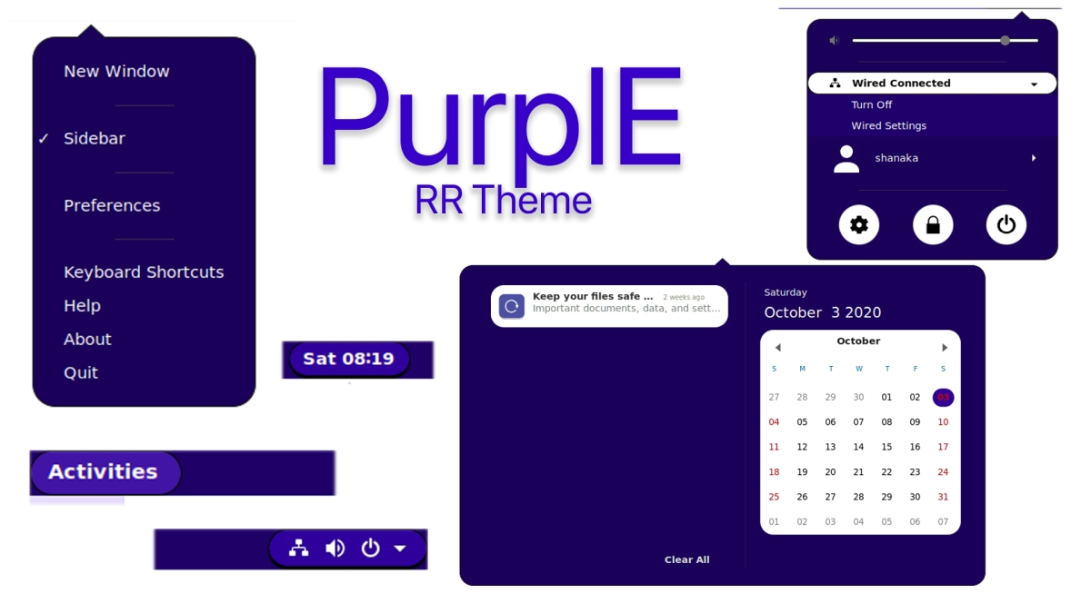how to install the purpie gnome shell theme on How to install the PurpIE Gnome Shell theme on Linux