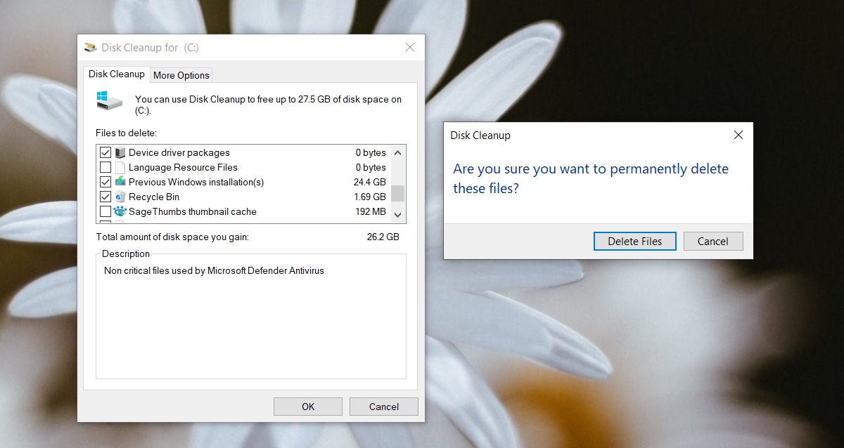 how to run the disk cleanup tool on windows 10 1 How to run the disk cleanup tool on Windows 10