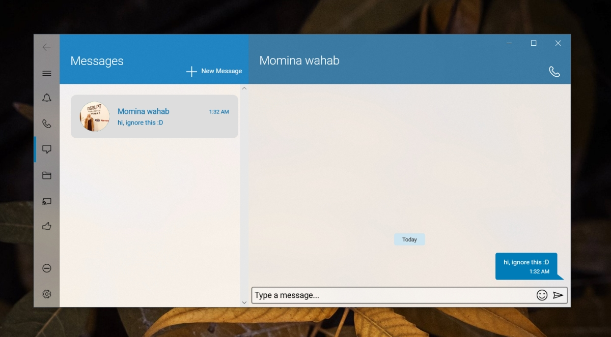 how to send and receive imessages on windows 10 3 How to send and receive iMessages on Windows 10