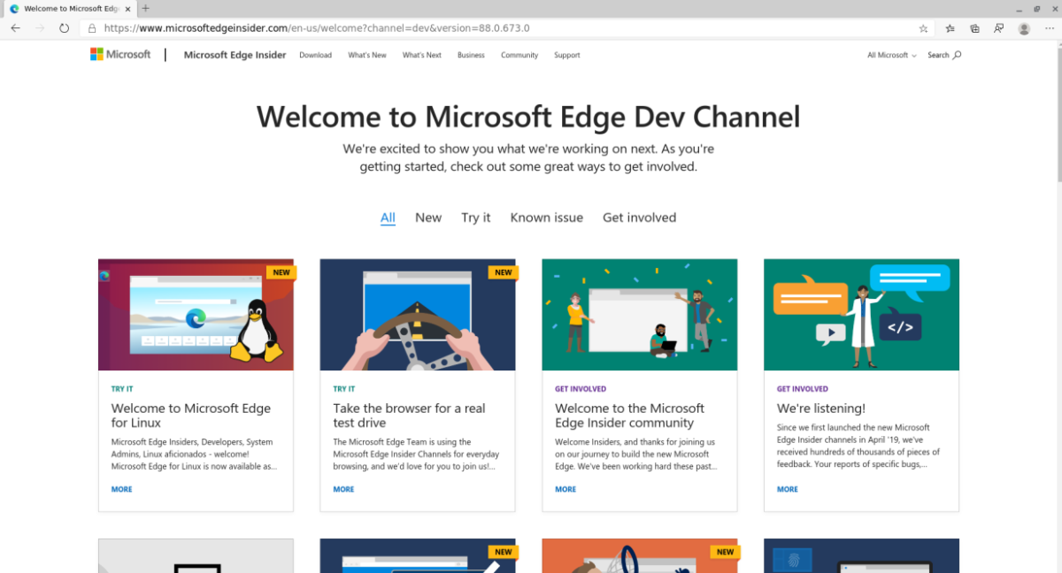 how to try out microsoft edge on linux before release How to try out Microsoft Edge on Linux before release