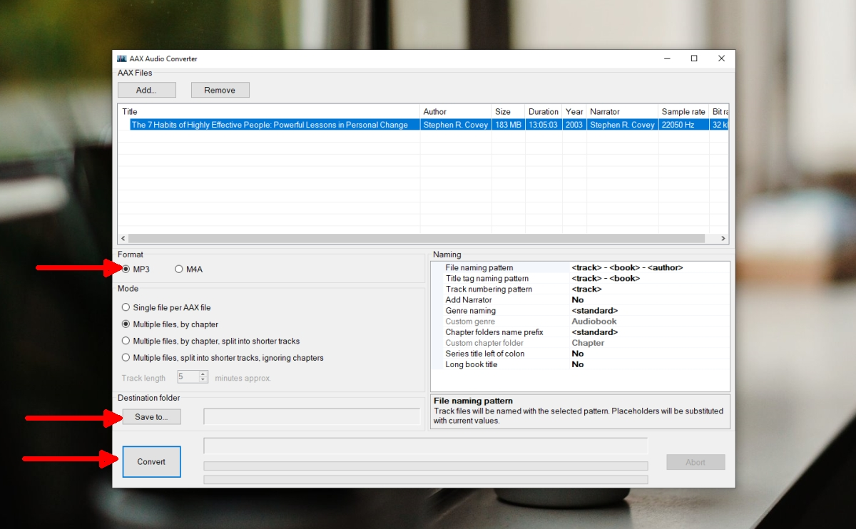 how to convert audible books to mp3 on windows 10 2 How to convert Audible books to MP3 on Windows 10