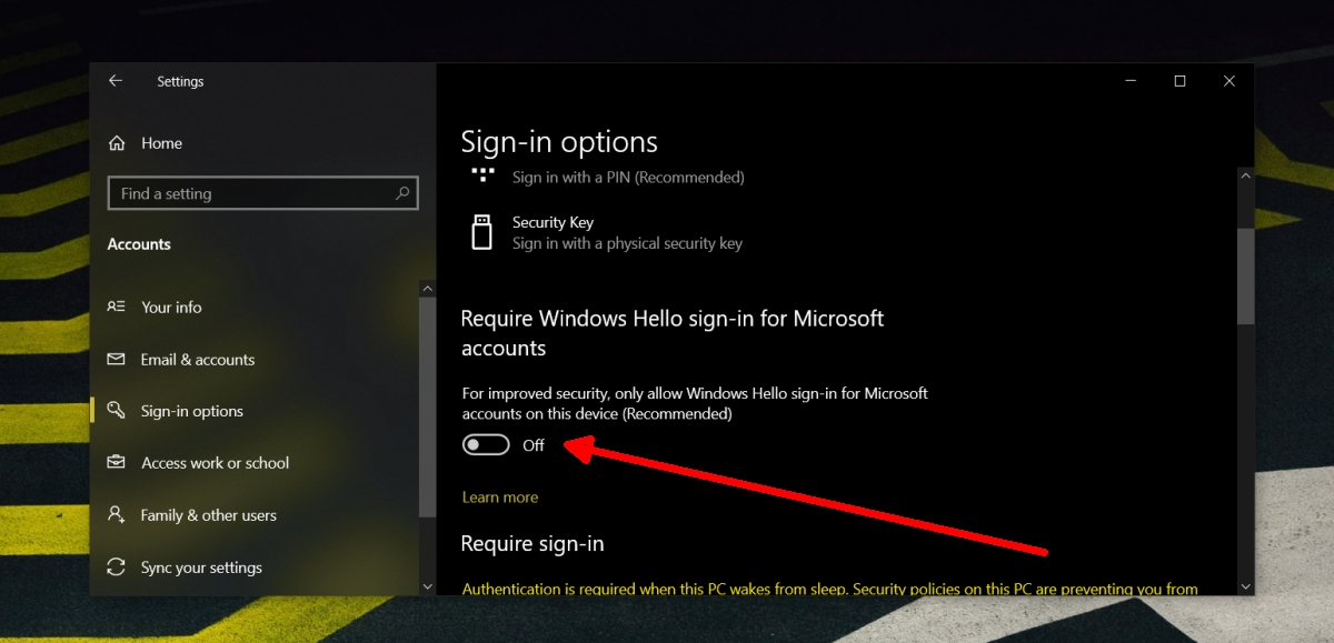 how to enable password sign in on windows 10 1 How to enable password sign in on Windows 10