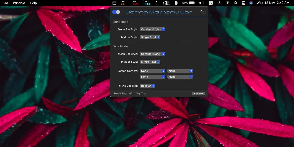 how to get the catalina menu bar on big sur macos How to get the Catalina menu bar on Big Sur [macOS]