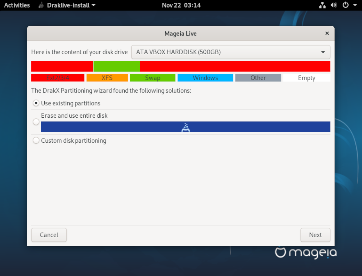 how to install mageia linux 7 How to install Mageia Linux