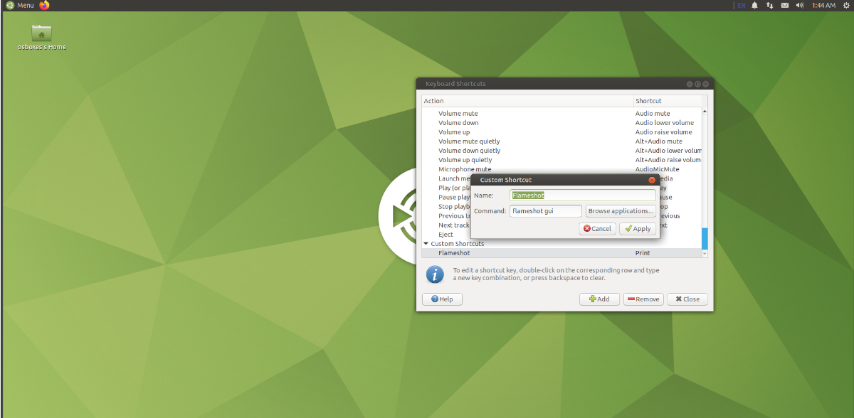 how to make flameshot the default linux screenshot app 4 How to make Flameshot the default Linux screenshot app
