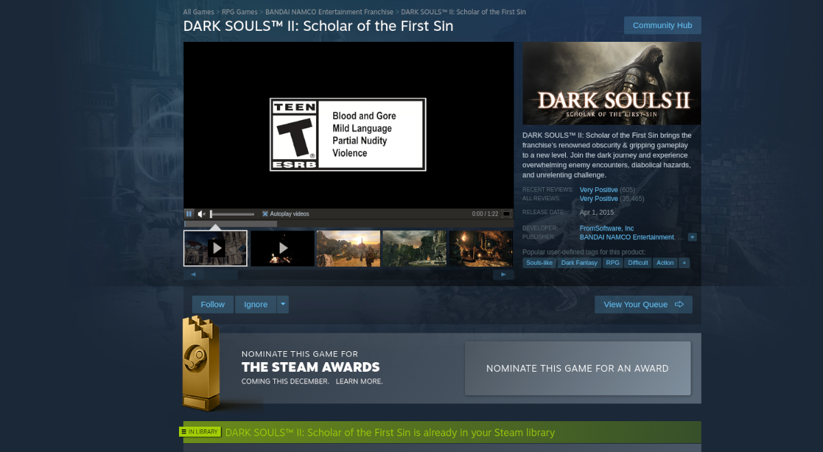 how to play dark souls ii scholar of the first sin on linux 2 How to play Dark Souls II: Scholar of the First Sin on Linux