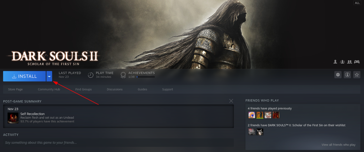how to play dark souls ii scholar of the first sin on linux 3 How to play Dark Souls II: Scholar of the First Sin on Linux