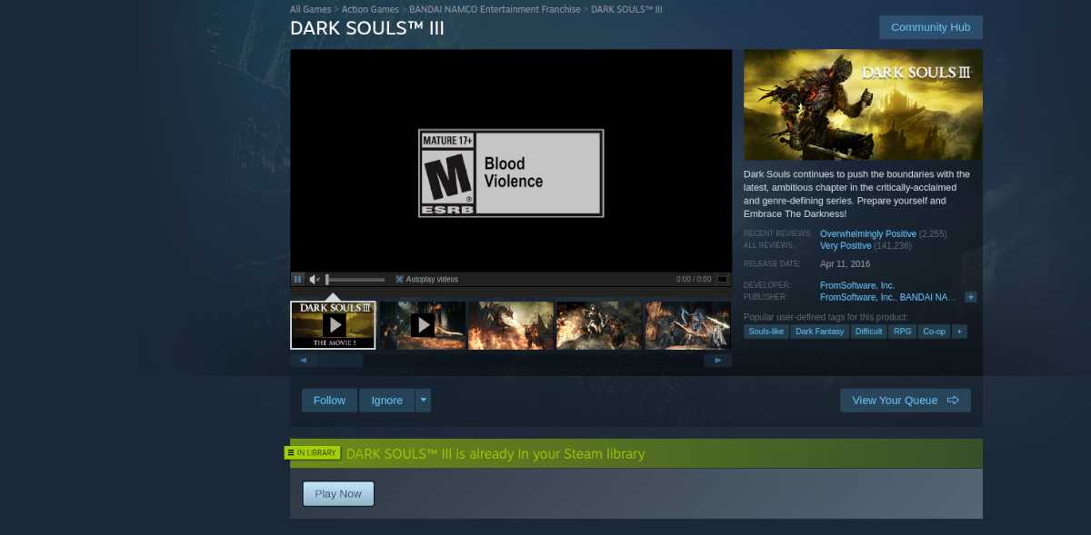 how to play dark souls iii on linux 2 How to play Dark Souls III on Linux