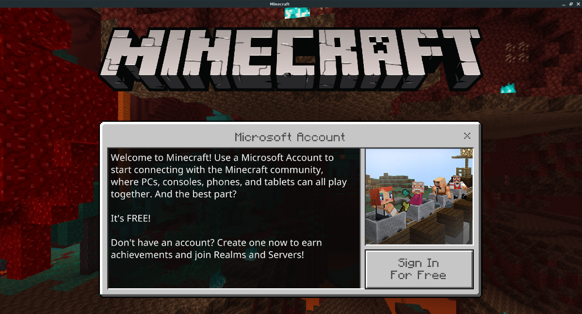 how to play minecraft bedrock edition on linux 2 How to play Minecraft Bedrock Edition on Linux
