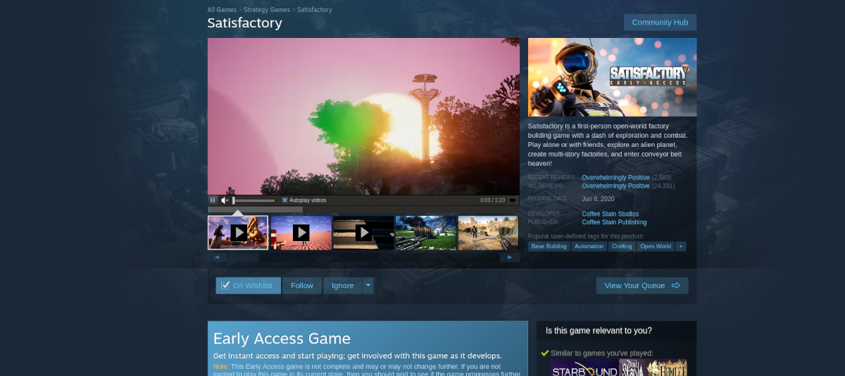 how to play satisfactory on linux 2 How to play Satisfactory on Linux