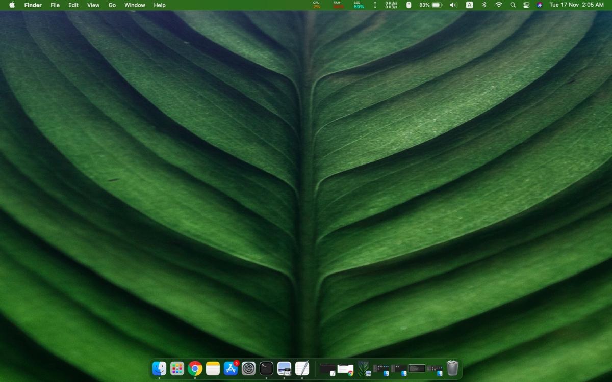 how to set a custom menu bar color on macos big sur 2 How to set a custom menu bar color on macOS Big Sur