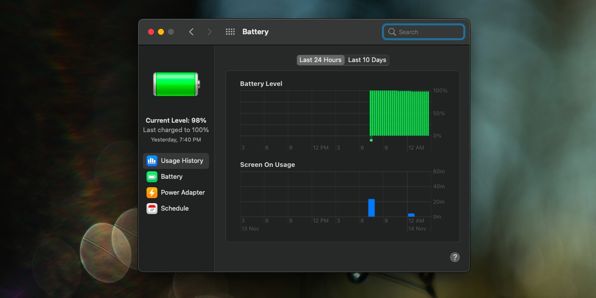 how to view battery usage on macos big sur 1 How to view battery usage on macOS Big Sur