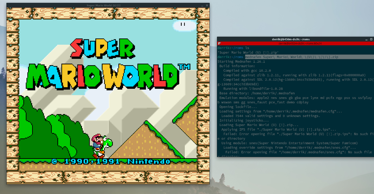 5 ways to play snes games on linux 12 5 ways to play SNES games on Linux