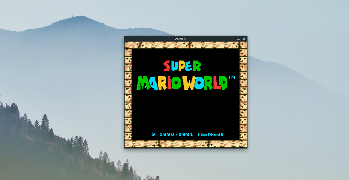 5 ways to play snes games on linux 4 5 ways to play SNES games on Linux