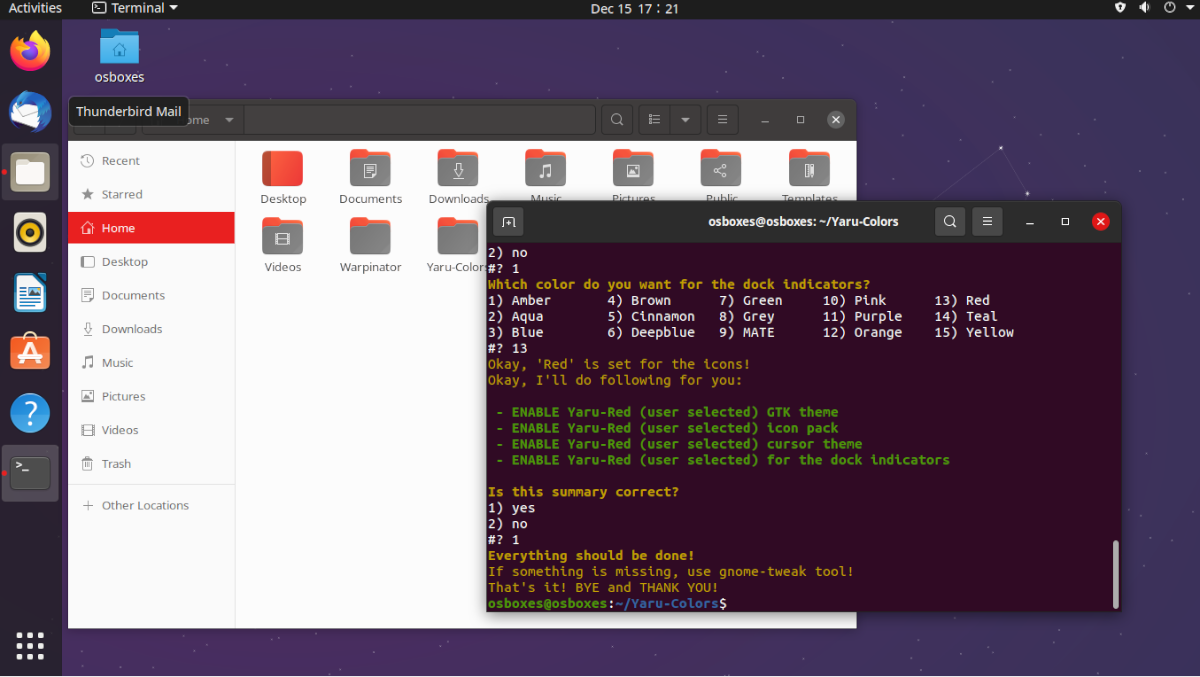 how to change the default yaru colors on ubuntu 1 How to change the default Yaru Colors on Ubuntu