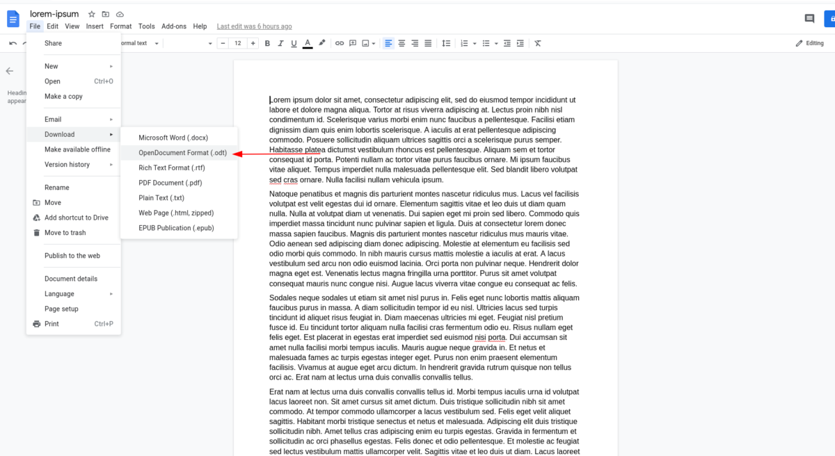 how to convert microsoft word to libre office on linux 2 How to convert Microsoft Word to Libre Office on Linux
