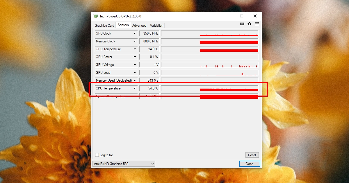 how to find the temperature for the on board graphics card on windows 10 1 How to find the temperature for the on-board graphics card on Windows 10