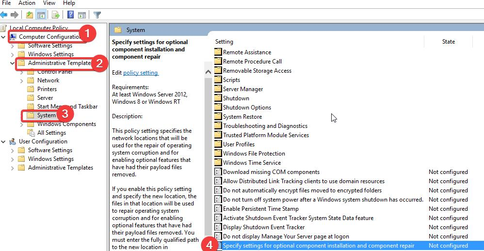 Group Policy Configurations
